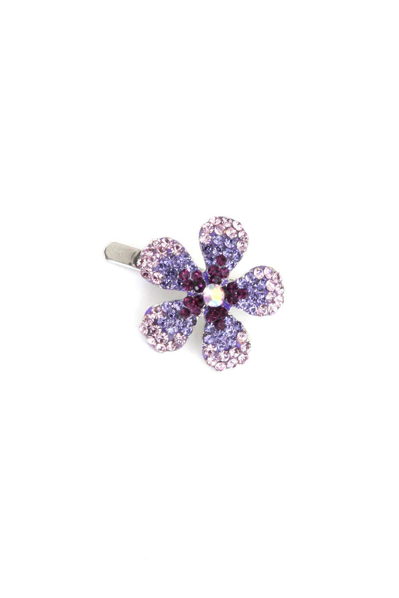 Crystal Daisy Magnetic Barrette Barrette Soho Style