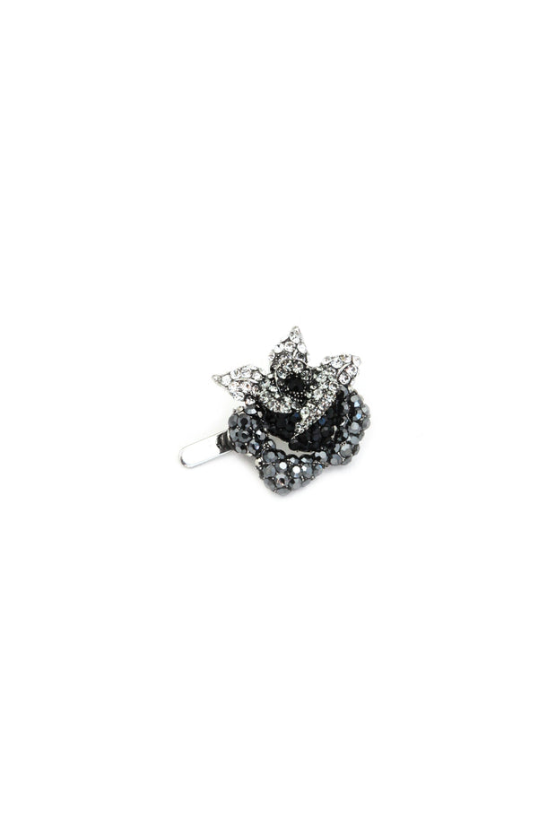 Soho Style Barrette Rose Crystal Mini Magnetic Barrette