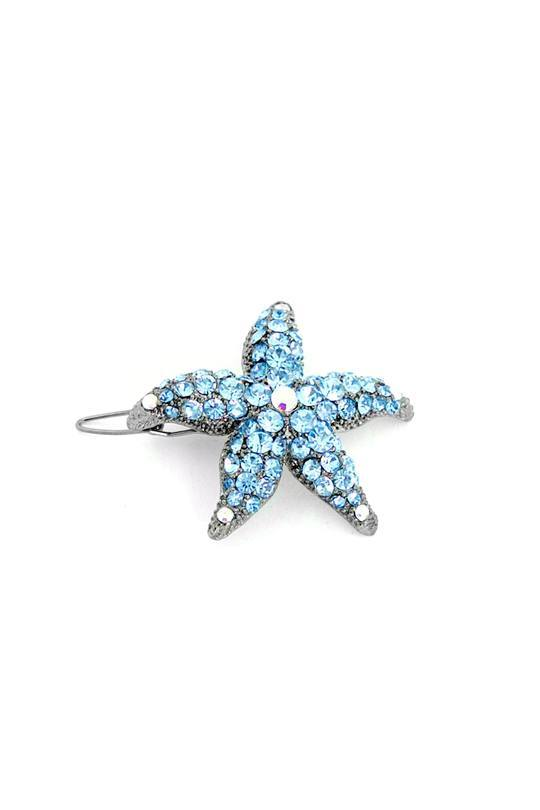 Small Starfish Barrette