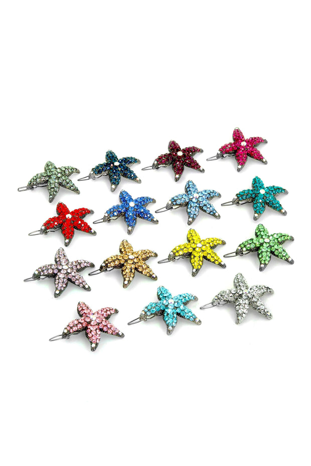 Soho Style Barrette Small Starfish Barrette