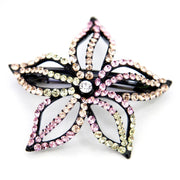 Soho Style Barrette Special Pale Pink Starfish Flower Barrette