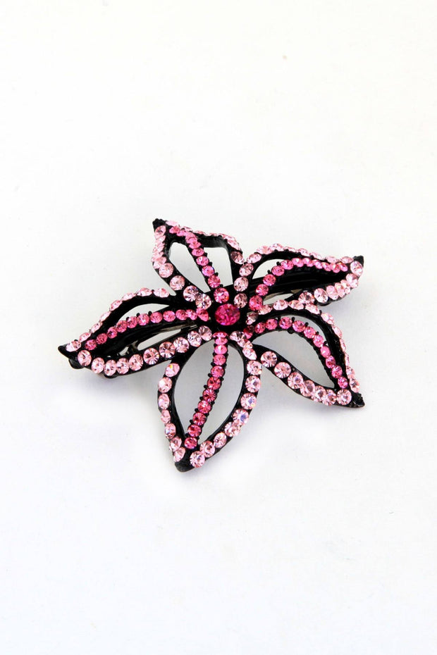 Starfish Flower Barrette