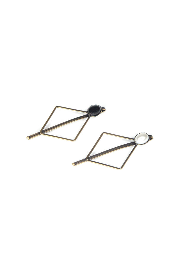 Soho Style Bobby Pins black Monika Geometric Bobby Pin