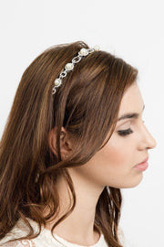 Courtney Pearl Hair Crown -  Crown, Soho Style