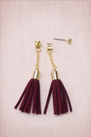 Fringe Tassel Back earrings -  Earrings, Soho Style