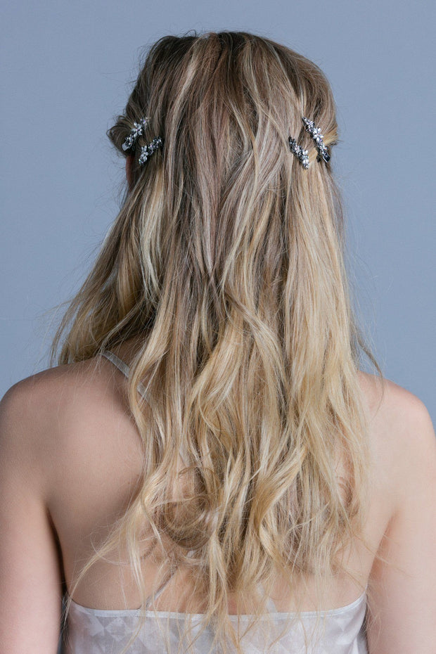 soho style hair accessories hair soho style 3288 | soho style hair clip frosted flora clips pair 9765338437 620x