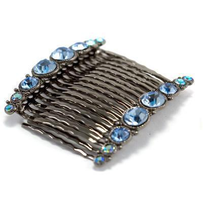 Bejeweled Hair Combs (Pair) Hair Comb Soho Style
