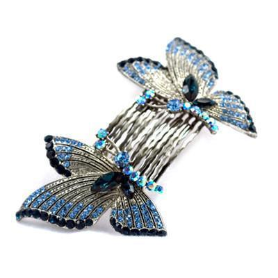 Butterfly Wings Hair Combs (Pair) Hair Comb Soho Style