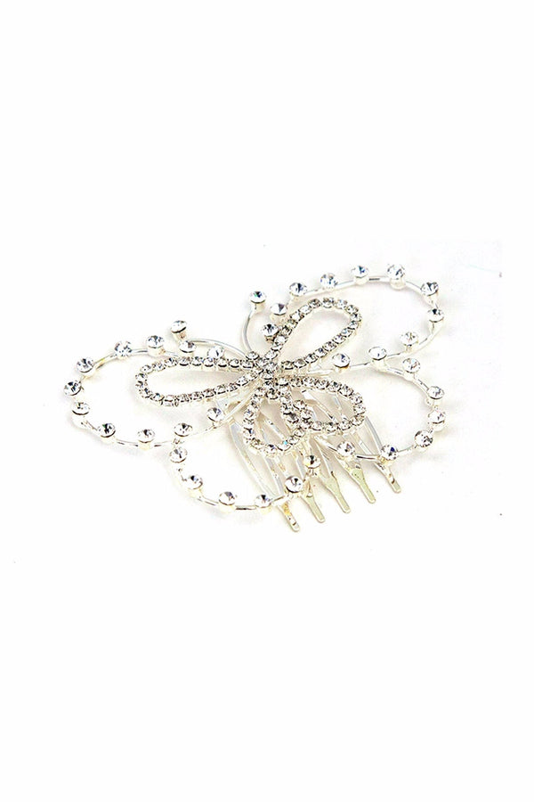 Bridal Butterfly Hair Comb -  Hair Comb, Soho Style