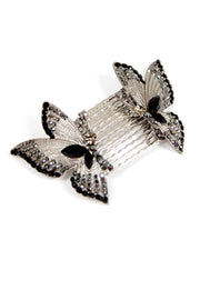 Butterfly Wings Hair Combs (Pair)