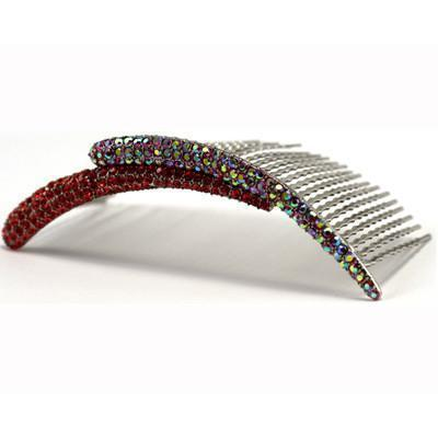 Crystal Spike Large Hair Comb Hair Comb Soho Style