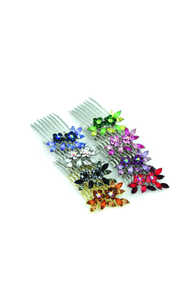 Frosted Vine Hair Combs (Pair) -  Hair Comb, Soho Style