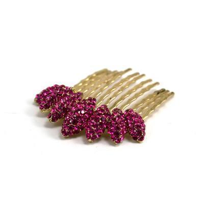 Almond Cluster Crystal Comb (Per Piece) Hair Comb Soho Style