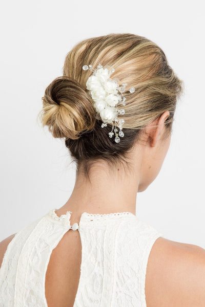 Grace Floral Hair Comb -  Hair Comb, Soho Style