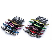 Soho Style Hair Comb Summer Wave Crystal Hair Comb (Sold as a Pair)