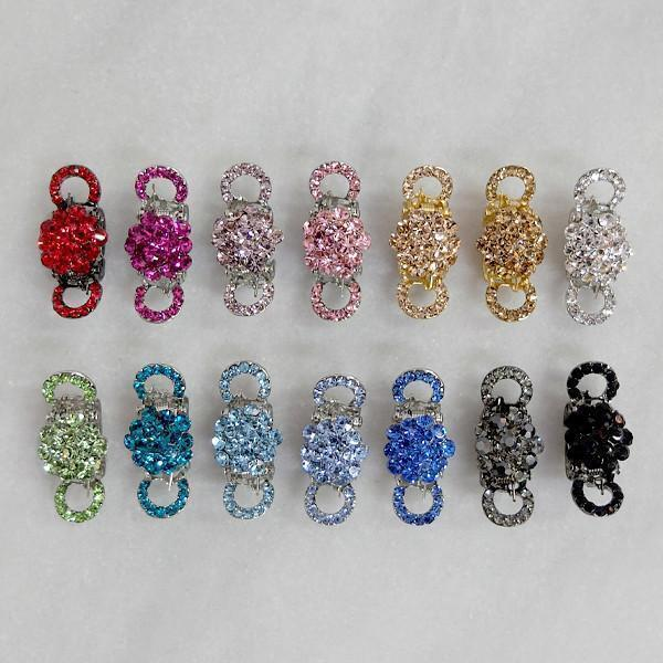 Mini Crystal Cluster Hair Jaw Hair Jaws Soho Style