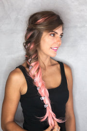 Soho Style Hair Jaws Pink / Single Mini Promenade Hair Jaw
