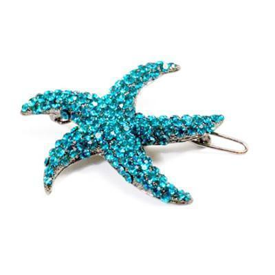 Starfish Barrette Hair Jewelry Soho Style