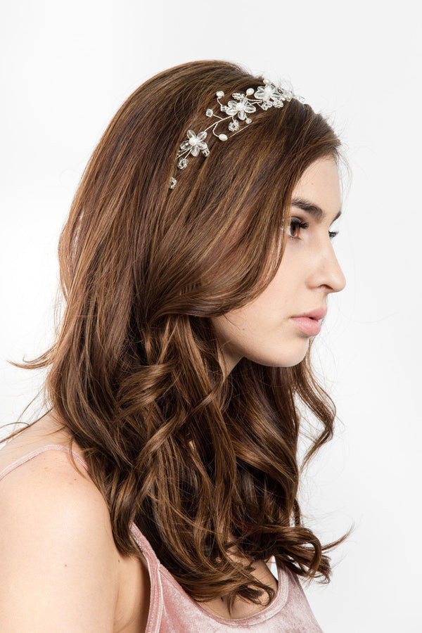 Charlotte Floral Hair Crown - Soho Style