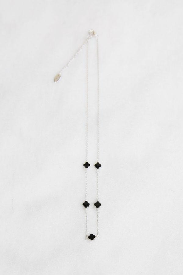 Elena Black necklace -  necklace, Soho Style