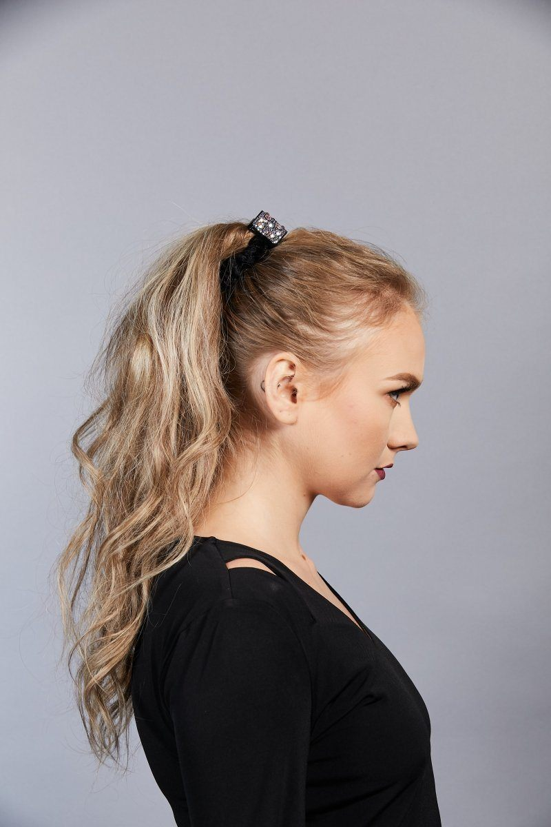 Millie Velvet Hair Scrunchie Ponytail Holder Soho Style