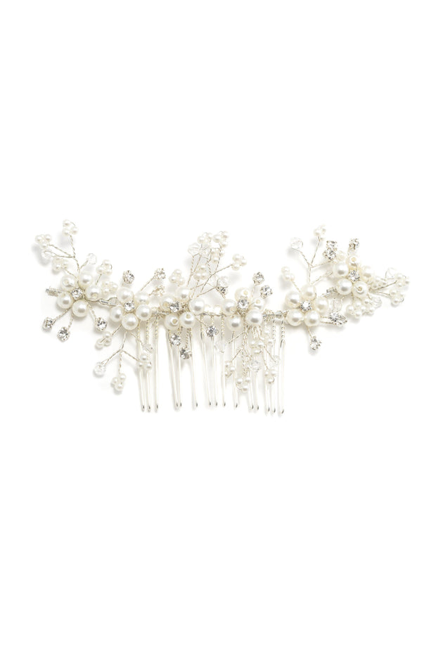 Soho Style Sale Charla Pearl Hair Comb