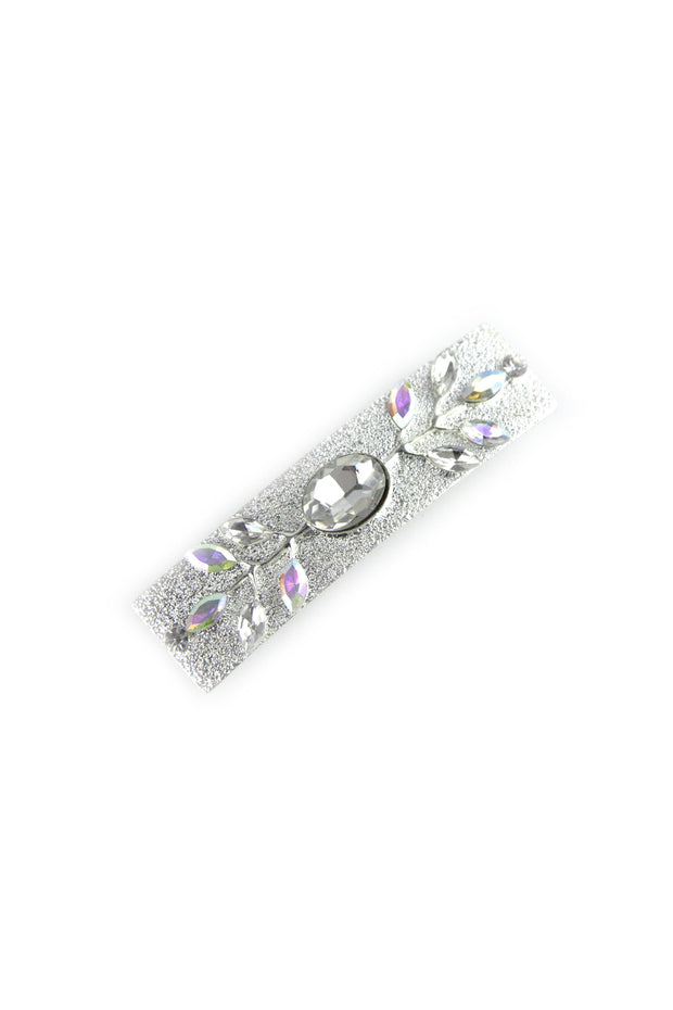 Soho Style Sale Clear Elegant rectangular crystal barrette
