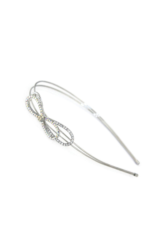 Soho Style Sale clear Simple Crystal Bow Headband