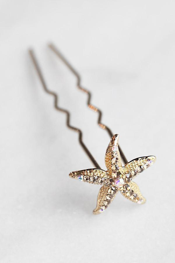 Soho Style Stick Vintage Starfish Hair Stick