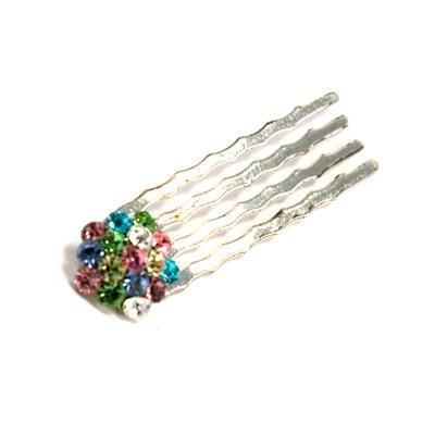 Crystal Cluster Mini Hair Comb 10-Piece Set value set Soho Style