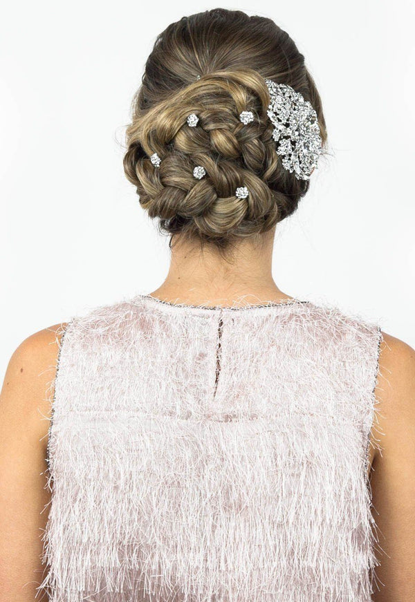 Holiday Soiree Crystal Hair Set - Soho Style