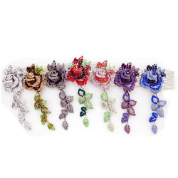 ROMANTIC ROSE HAIR COMB set ($270 value) value set Soho Style