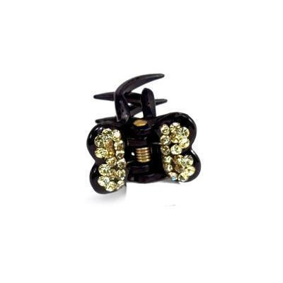 Mini Butterfly Hair Jaw with Crystal Covered Wings Hair Jaws Soho Style