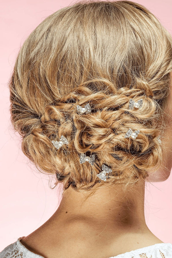 Clair Bow Hair Stick Wedding Soho Style