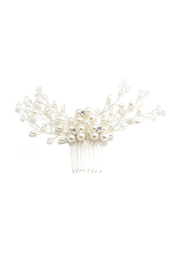 Soho Style Wedding Emilie Pearl Hair Comb
