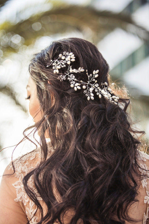 Estelle Baby's Breath Hair Stick Wedding Soho Style