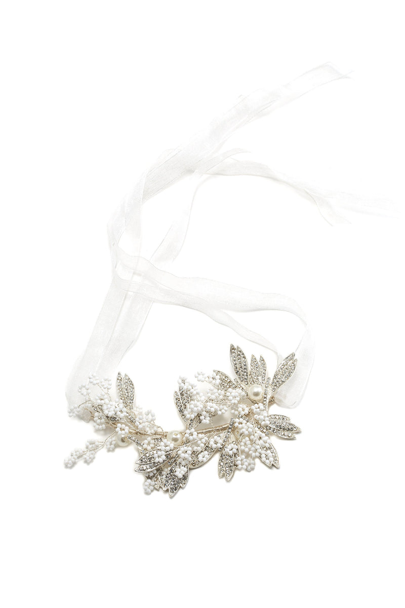 Floredelis Crystal Hair Crown Wedding Soho Style