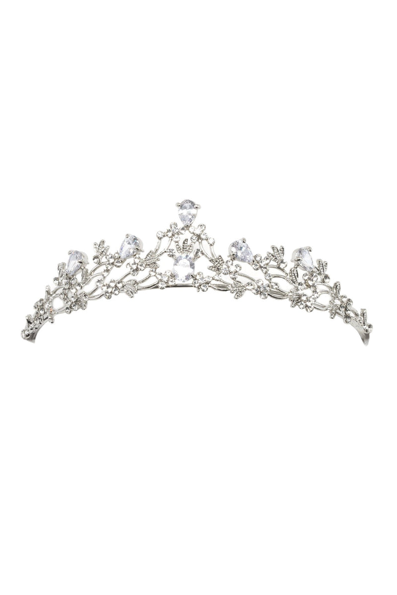 Soho Style Wedding Soleste Crystal Crown Tiara