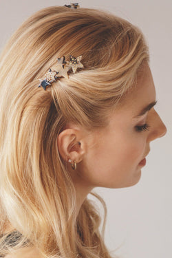 Heavenly Stars Hair Comb