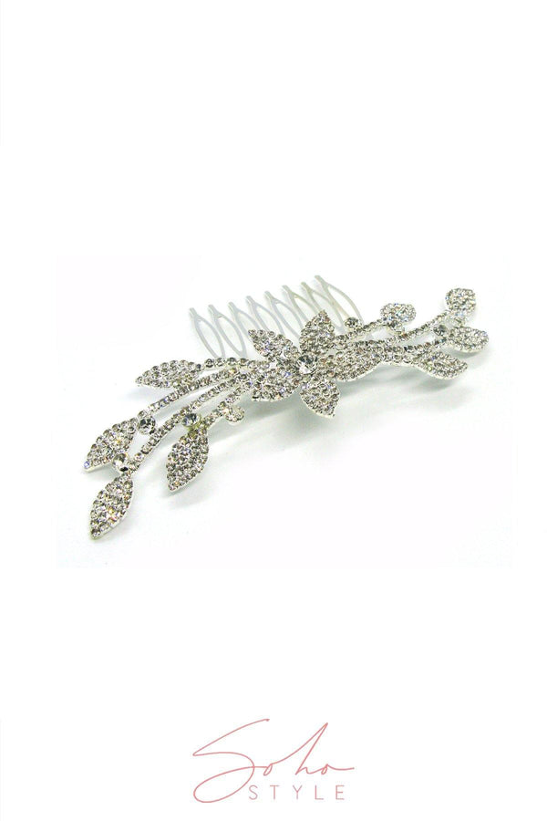 Astrid Floral Hair Comb Wedding Sale