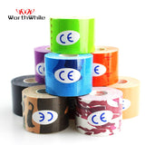 WorthWhile Kinesiology Tape Athletic Recovery Elastic Tape Kneepad Muscle Pain Relief