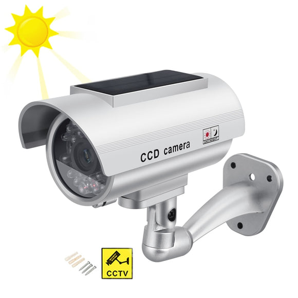 Solar Power Dummy Camera Security Waterproof