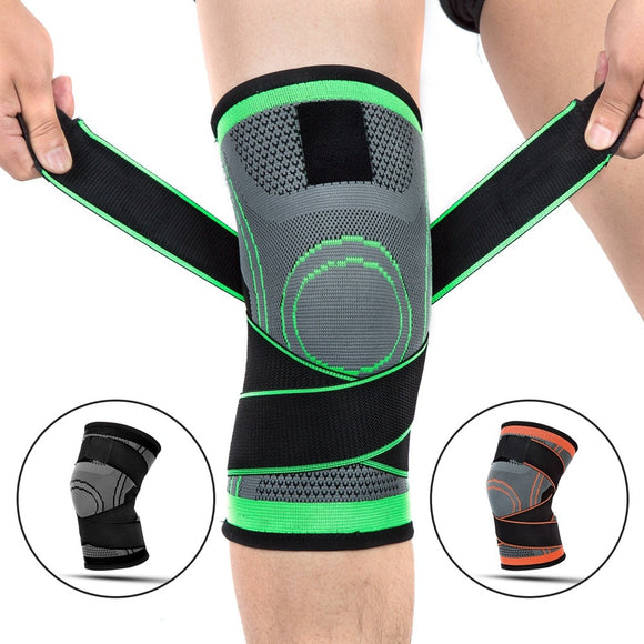 1pcs Knee Support Brace Pads | Breathable Bandage Professional Protective Sports Knee Pad