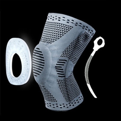 1 pcs Knee Patella Protector | Brace Silicone Spring Knee Pad