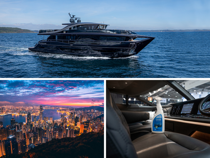 New distribution agreement with Princess Yachts Greater China