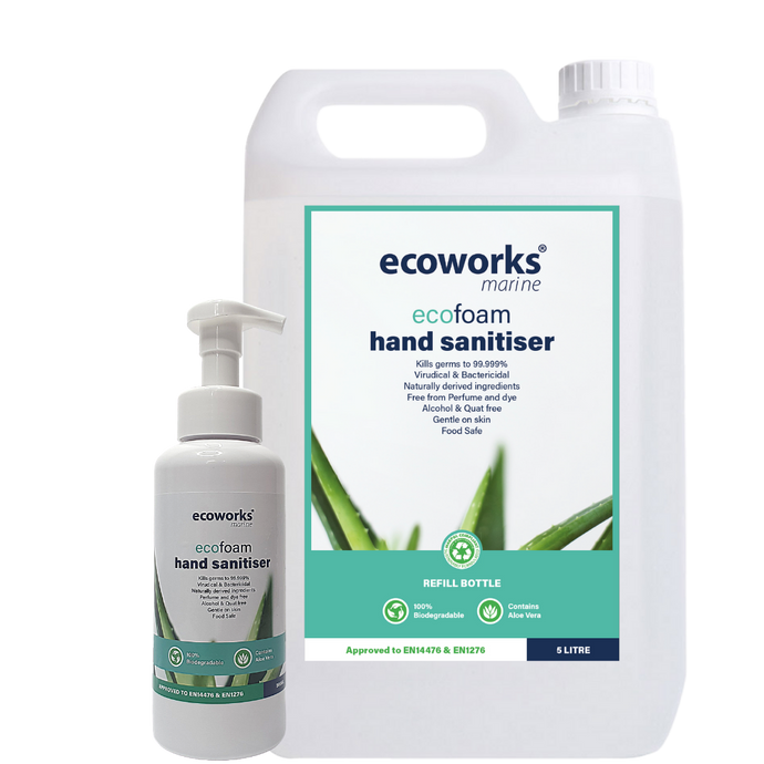 We're launching our Foam Hand Sanitiser!