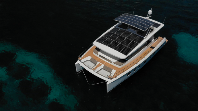 Ecoworks Marine Partners with Silent Yachts