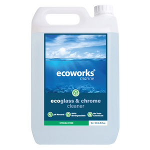 eco glass & chrome cleaner - Ecoworks Marine Cleaning Products