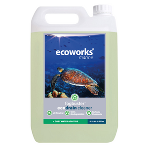 fogbuster® eco drain cleaner & grey water additive - Ecoworks Marine Ltd.