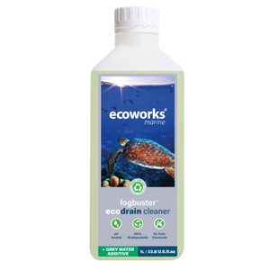 fogbuster® eco drain cleaner & grey water additive - Ecoworks Marine Cleaning Products